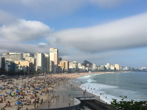 A Beach in Rio de Janerio, Brazil