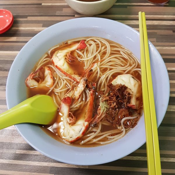Prawn Bee Hoon Soup