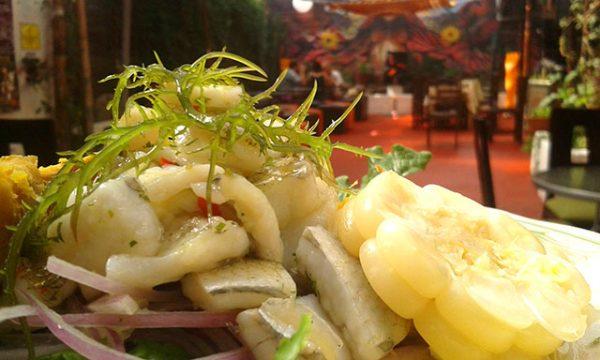 Grilled Trout at Jardin Secreto