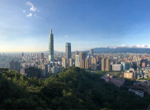 Day View of Taipei 101 from Elephant Mountain