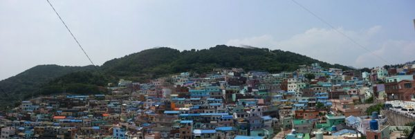 View of the Gamcheon Culture Village