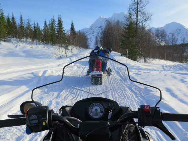 View from the Snow Mobile