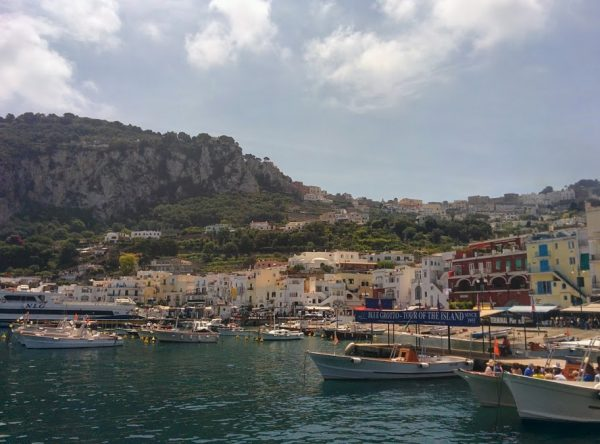 Visit islands along the Amalfi Coast by boat