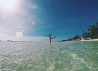 Enjoying the lovely beaches in Borocay, Philippines Photo Credits: Bucketlistpicks