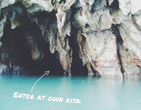 Secret Black hole in the rocks